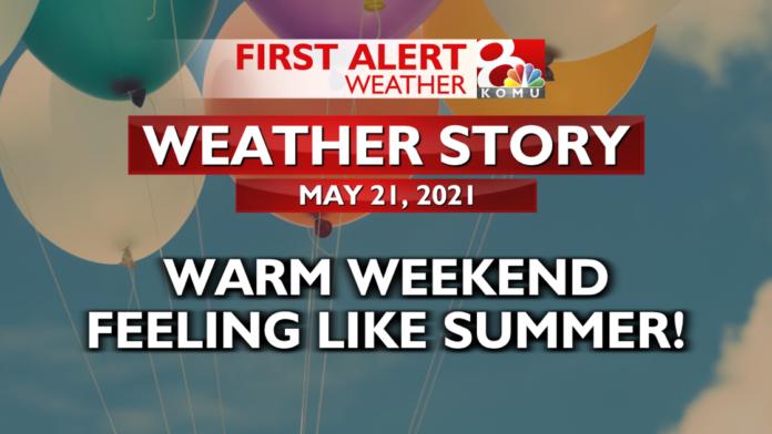 Forecast: Morning rain showers, warmer weekend ahead   Weather