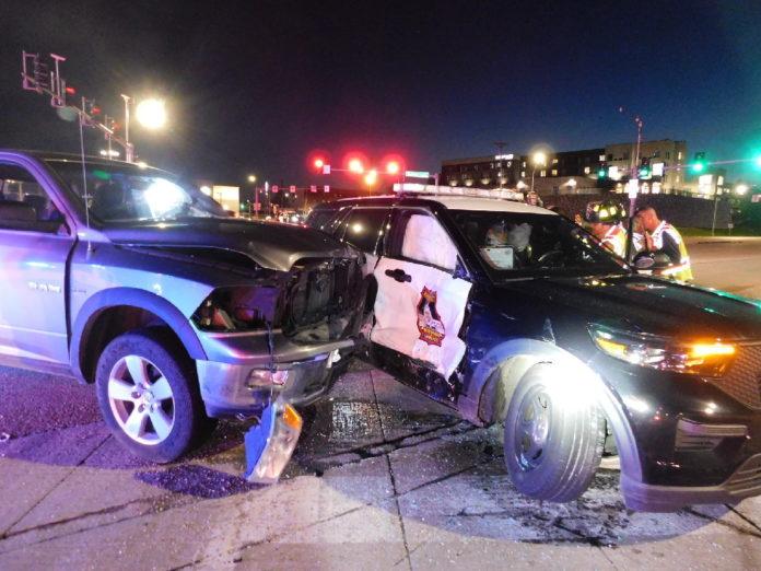 Jefferson City officer injured in collision